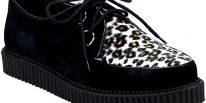 Zapato Rockabilly hombre Demonia Creeper 600 top ten